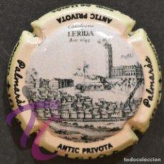 Coleccionismo de cava: PLACA DE CAVA LLEIDA ANTIC LA SEU VELLA PIRULA PARTICULARES LERIDA. Lote 260413605