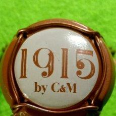 Coleccionismo de cava: CHAPA CAVA CANALS Y MUNNE 1915.. Lote 262317135
