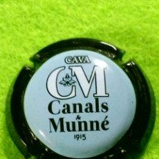 Coleccionismo de cava: CHAPA CAVA CANALS Y MUNNE AZUL. Lote 262317620