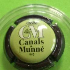 Coleccionismo de cava: CHAPA CANALS Y MUNNE VERDE. Lote 262739940