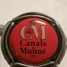 Coleccionismo de cava: CHAPA CAVA CANALS Y MUNNE ROJA. Lote 262740580