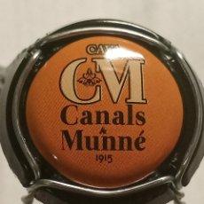 Coleccionismo de cava: CHAPA CAVA CANALS MUNNE NARANJA. Lote 262740770