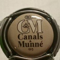 Coleccionismo de cava: CHAPA CAVA CANALS Y MUNNE GRIS. Lote 262740915