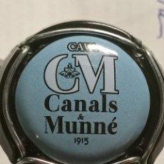 Coleccionismo de cava: CHAPA CAVA CANALS MUNNE AZUL. Lote 262741040
