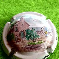 Coleccionismo de cava: CHAPA CAVA. VILARDELL.. Lote 263268425