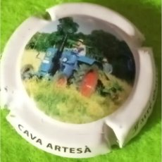 Colecionismo de cava: CHAPA CAVA. FARRE GARRIGA. CAVA ARTESA. Lote 267685194