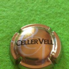 Coleccionismo de cava: CHAPA CAVA CELLER VELL.. Lote 268307274