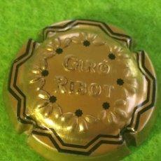 Coleccionismo de cava: CHAPA CAVA GIRÓ RIBOT. EN RELIEVE. Lote 268898614