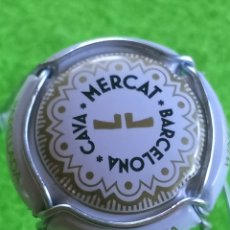Coleccionismo de cava: CHAPA CAVA . MERCAT. BARCELONA. Lote 268899259