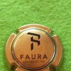Coleccionismo de cava: CHAPA CAVA. FAURA. Lote 269017634