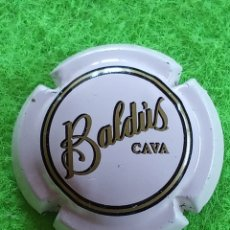 Coleccionismo de cava: CHAPA CAVA BALDUS. CHAPA COLOR ROSADO. Lote 269633273