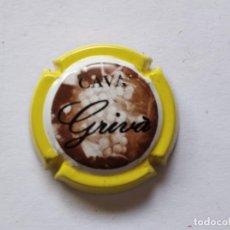 Coleccionismo de cava: PLACA DE CAVA GRIVA Nº 77008. Lote 270937788