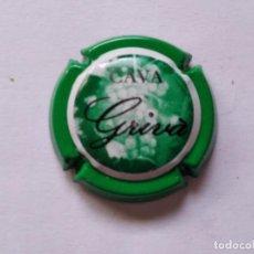 Coleccionismo de cava: PLACA DE CAVA GRIVA Nº 78715. Lote 270937943