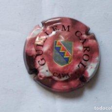 Coleccionismo de cava: PLACA DE CAVA GUILLEM CAROL Nº 35909. Lote 270938428