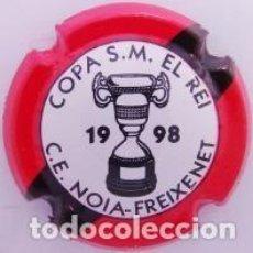 Coleccionismo de cava: PLACA DE CAVA - PIRULA - COMMEMORATIVAS - C.E. NOIA FREIXENET - COPA S.M. EL REI 1998 - X 11882. Lote 278557463