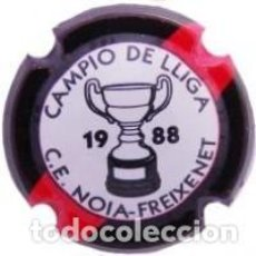 Coleccionismo de cava: PLACA DE CAVA - PIRULA - COMMEMORATIVAS - C.E. NOIA FREIXENET - CAMPIO DE LLIGA 1988 - X 11884. Lote 278557593