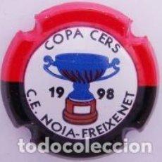 Coleccionismo de cava: PLACA DE CAVA - PIRULA - COMMEMORATIVAS - C.E. NOIA FREIXENET - COPA CERS 1998 - X 11886. Lote 278557803