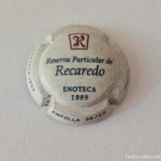 Coleccionismo de cava: PLACA CAVA RECAREDO ENOTECA 1999 / MUY ESCASA / Nº 38 DE 60 / PERFECTO ESTADO / PLACÓN. Lote 288346178