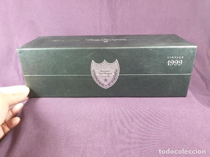 COFRE BOTELLA DOM PÉRIGNON VINTAGE –1999 (Coleccionismo - Botellas y Bebidas - Cava)