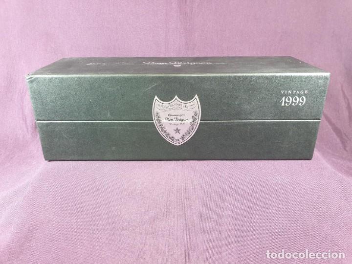 Coleccionismo de cava: COFRE BOTELLA DOM PÉRIGNON VINTAGE –1999 - Foto 3 - 289744343