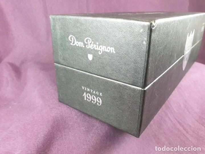 Coleccionismo de cava: COFRE BOTELLA DOM PÉRIGNON VINTAGE –1999 - Foto 27 - 289744343