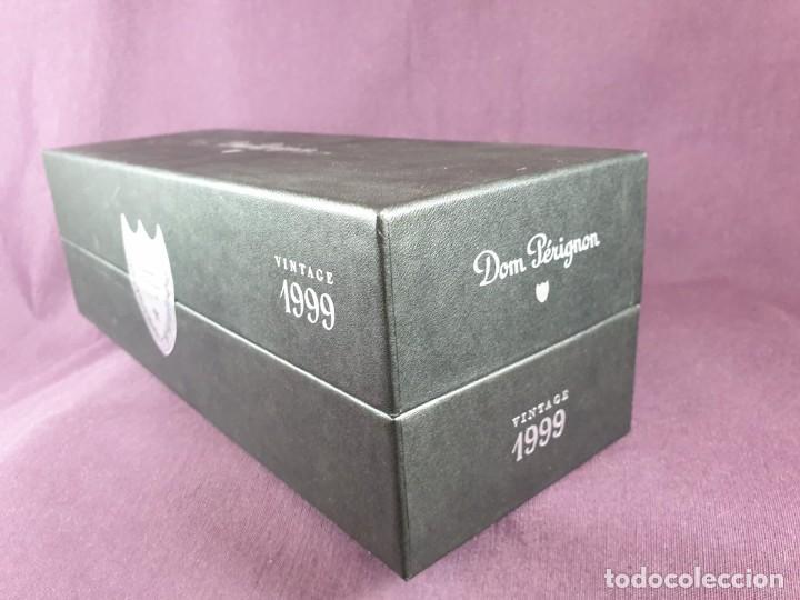 Coleccionismo de cava: COFRE BOTELLA DOM PÉRIGNON VINTAGE –1999 - Foto 28 - 289744343