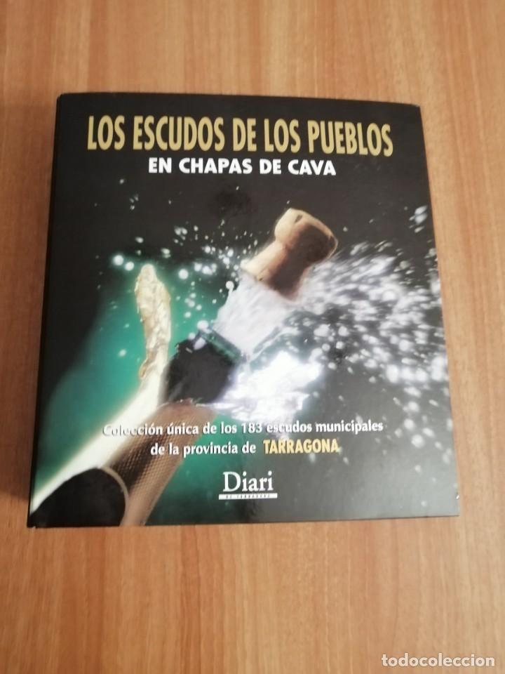 COLECCIÓN DE 184 CHAPAS DE CAVA CON TODOS LOS MUNICIPIOS PROVINCIA DE TARRAGONA PIRULAS DIARI (Coleccionismo - Botellas y Bebidas - Cava)