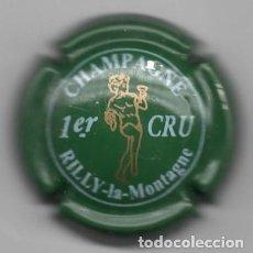 Coleccionismo de cava: CHAPA / PLACA - CAVA - CHAMPAGNE - 1 ER. CRU - RILLY LA MONTAGNE -. Lote 294094893