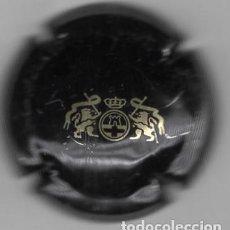 Coleccionismo de cava: CHAPA / PLACA CAVA - EMBLEMA DORADO SOBRE NEGRO - SIN MAS DATOS. Lote 294112698
