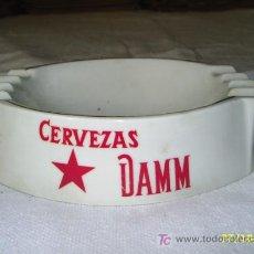 Ceniceros: CERVEZAS DAMM -CENICERO PORCELANA --ROURE. Lote 27571723