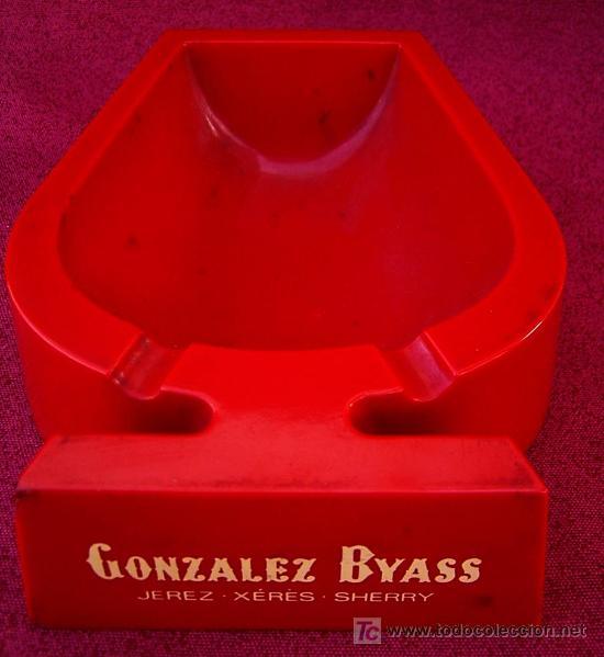 CENICERO GONZALEZ BYASS (Coleccionismo - Objetos para Fumar - Ceniceros)