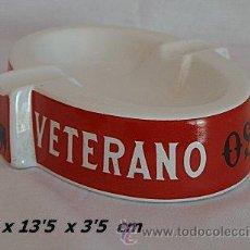 Ceniceros: CENICERO DE PORCELANA VETERANO OSBORNE. Lote 61742836