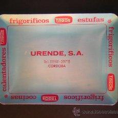 Ceniceros: CENICERO PUBLICITARIO DE ALUMINIO. Lote 27592192