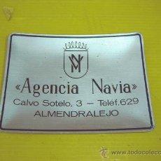Ceniceros: CENICERO COLECCIONABLE AGENCIA NAVIA ALMENDRALEJO. Lote 11117097