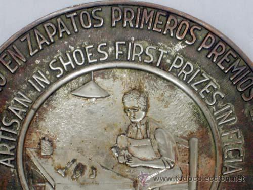Ceniceros: Cenicero publicitario Zerep Artesano en zapatos primeros premios en Ficia años 40 - Foto 3 - 12185249