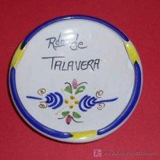 Ceniceros: CENICERO RECUERDO DE TALAVERA. DIAMETRO 9,5 CM. Lote 27243211