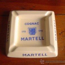 Ceniceros: CENICERO PORCELANA COGNAC MARTELL.. Lote 23672518