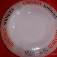 Ceniceros: CENICERO -SOURCES CHEVRON,MADE IN FRANCE. Lote 27139125