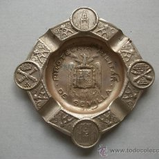 Ceniceros: CENICERO DE LA PIROTECNIA MILITAR DE SEVILLA. EPOCA DE FRANCO CON AGUILA DE SAN JUAN. Lote 24906818