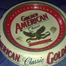 Ceniceros: CENICERO ESMALTADO METÁLICO.. GOLDEN AMERICAN CLASSIC.. Lote 26482091