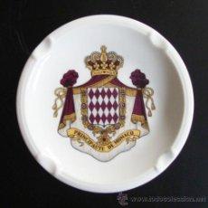 Ceniceros: CENICERO PORCELANA PRINCIPAUTE DE MONACO. Lote 45950759