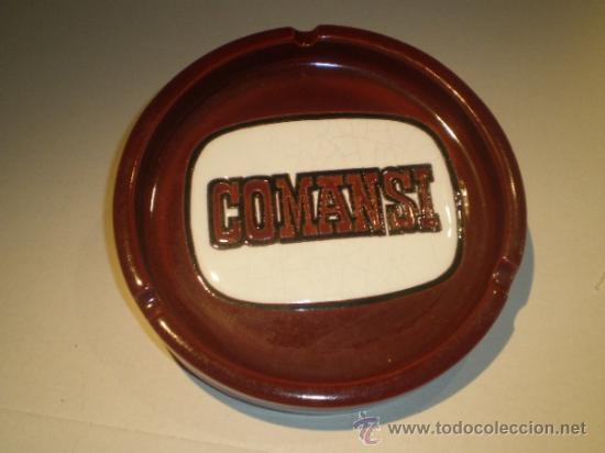 CENICERO COMANSI PORCELANA - AÑOS 80 (Coleccionismo - Objetos para Fumar - Ceniceros)