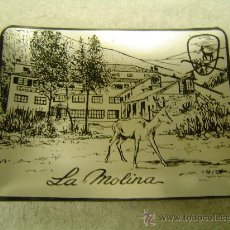 Ceniceros: CENICERO DE ALUMINIO AÑOS 60 LA MOLINA. Lote 32474282