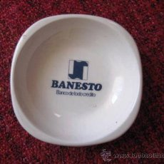 Ceniceros: CENICERO BANESTO. LOZA DE SAN CLAUDIO.ASTURIAS.. ENVIO GRATIS¡¡¡. Lote 36364581