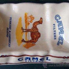 Ceniceros: CENICERO GRANDE DE PUBLICIDAD CAMEL EN PLÁSTICO DURO. Lote 83106534