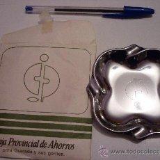 Ceniceros: CENICERO METAL PROPAGANDA CAJA PROVINCIAL DE AHORROS DE GRANADA. Lote 36645750