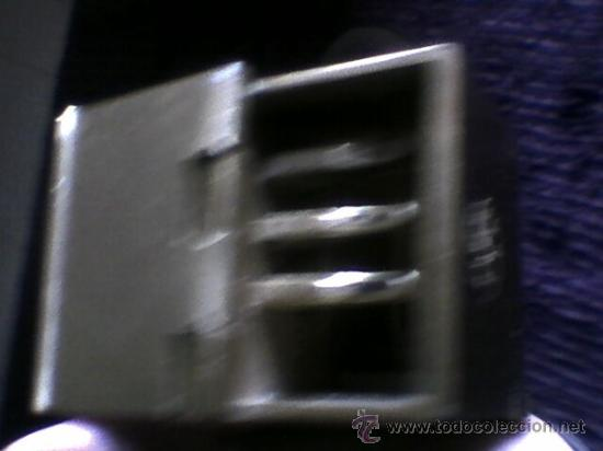 Ceniceros: Cenicero tren ferrocarril metal retro vintage - Foto 13 - 36736360