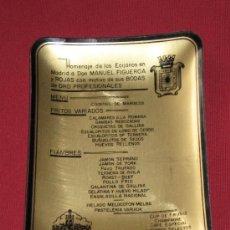 Ceniceros: CENICERO GRAN HOTEL VICTORIA DE MADRID - HOMENAJE DE LOS ECIJANOS EN MADRID FEBRERO 1968. Lote 38188850