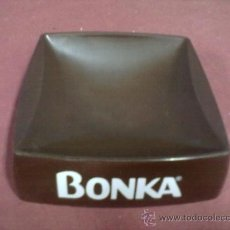 Ceniceros: CENICERO VINTAGE PUBLICIDAD CAFE BONKA. Lote 38906905
