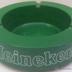 Ceniceros: CENICERO PUBLICIDAD - CERVEZA HEINEKEN - MATERIAL PLÁSTICO - 13,5 CMS. -. Lote 39486574